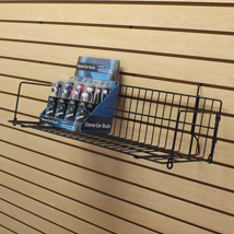 10 In Deep Slatwall And Pegboard Shelving