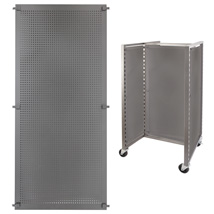 Di Simo Perforated Metal Insert For Floor Displays