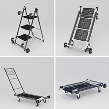 4 In 1 Moving Trolley Step Ladder Hand Truck And Dolly