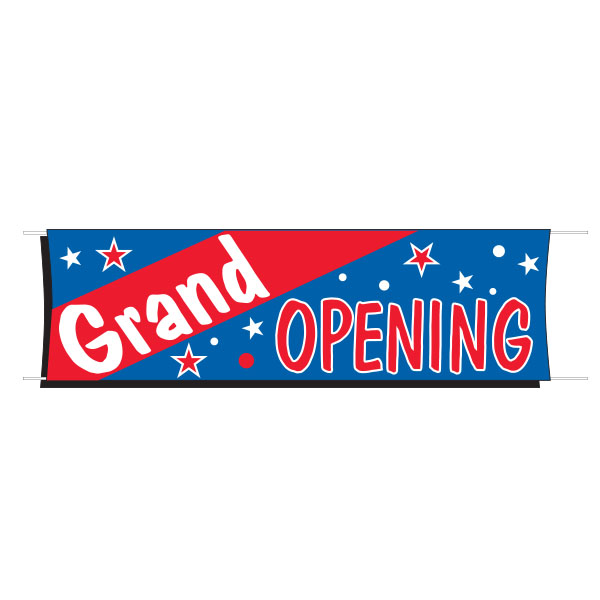 Grand Opening Outdoor Banner