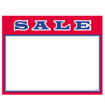Sale Economy Price Cards