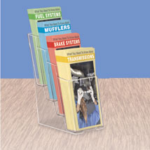 4 Tier Acrylic Literature Holder