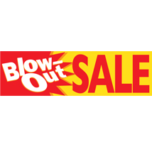 Blow Out Sale Banner
