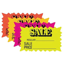 Rectangle Sale Burst Price Card