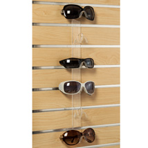 6 Pair Acrylic Eyewear Slatwall Display