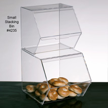 Acrylic Stackable Storage Food Bin - 12 X 13 X 12