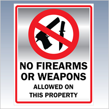 No Weapons Poster