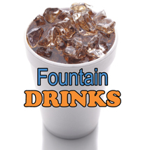 Fountain Drinks Sign