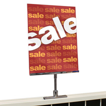 Gondola Sign Holder with Magnetic Base