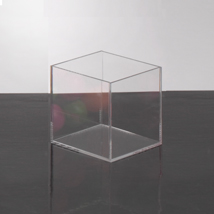 Clear Acrylic 4 In. Display Cube