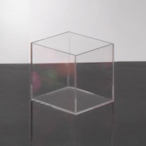 Clear Acrylic 6 In. Display Cube