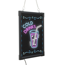 Led Illuminated Erasable Message Writing Board - 15 X 11 Inches