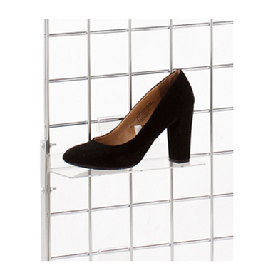 Acrylic Grid Shelf - 10 In. W X 4 In. D