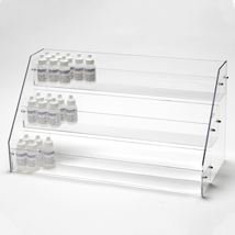3 Tier Acrylic E Juice Display - 21 In. W X 9 1/2 In. D X 11 In. H