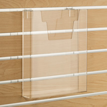 Acrylic Literature Holder For Slatwall