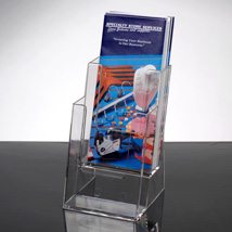 2 Tier Brochure Holder