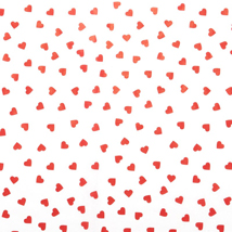 Contemporary Hearts Tissue Paper