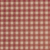 Red And Kraft Gingham Tissue Paper