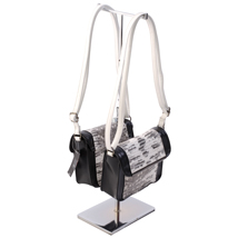 Double Sided Chrome Handbag Display