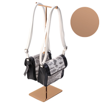 Double Sided Handbag Display - Rose Gold