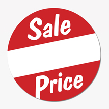 Sale Pricing Label
