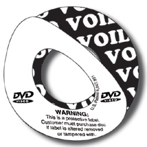 "CD Security ""Void"" Label"