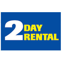 2 Day Rental Label
