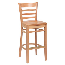 Wood Ladder Back Stools