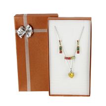 Bow Tie Jewelry Combo Box for Necklace / Earrings / Ring