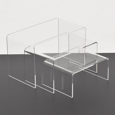 3 Pc. Rectangular Acrylic Display Risers