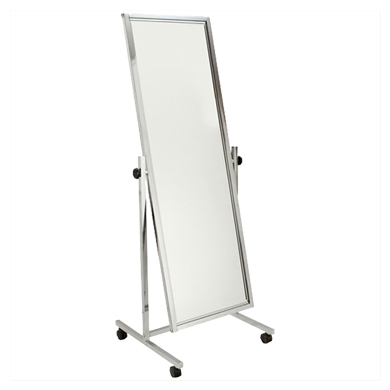 Adjustable Tilt Mobile Single Mirror
