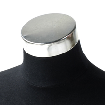 Chrome Neck Cap For Jersey Forms