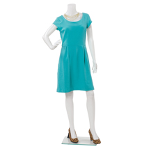 Headless Female Plastic Mannequin With Right Arm Bent