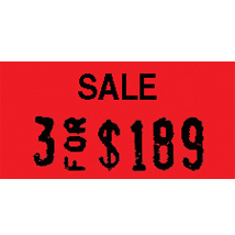 Sale 1 Line Pricing Labels For Monarch 1110 And Garvey 1910