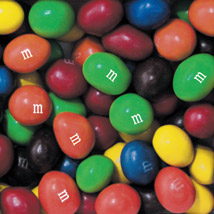 M & M Chocolate Peanut Bulk Candy