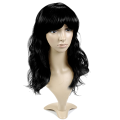 Long Length Black Mannequin Wig