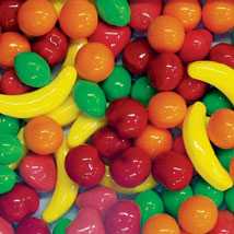 Runts Fruit Bulk Candy - 30 lbs. for candy vending machine