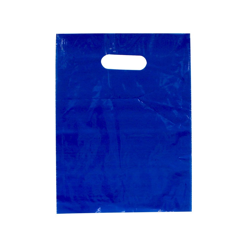 Small Blue Low Density Plastic Bag