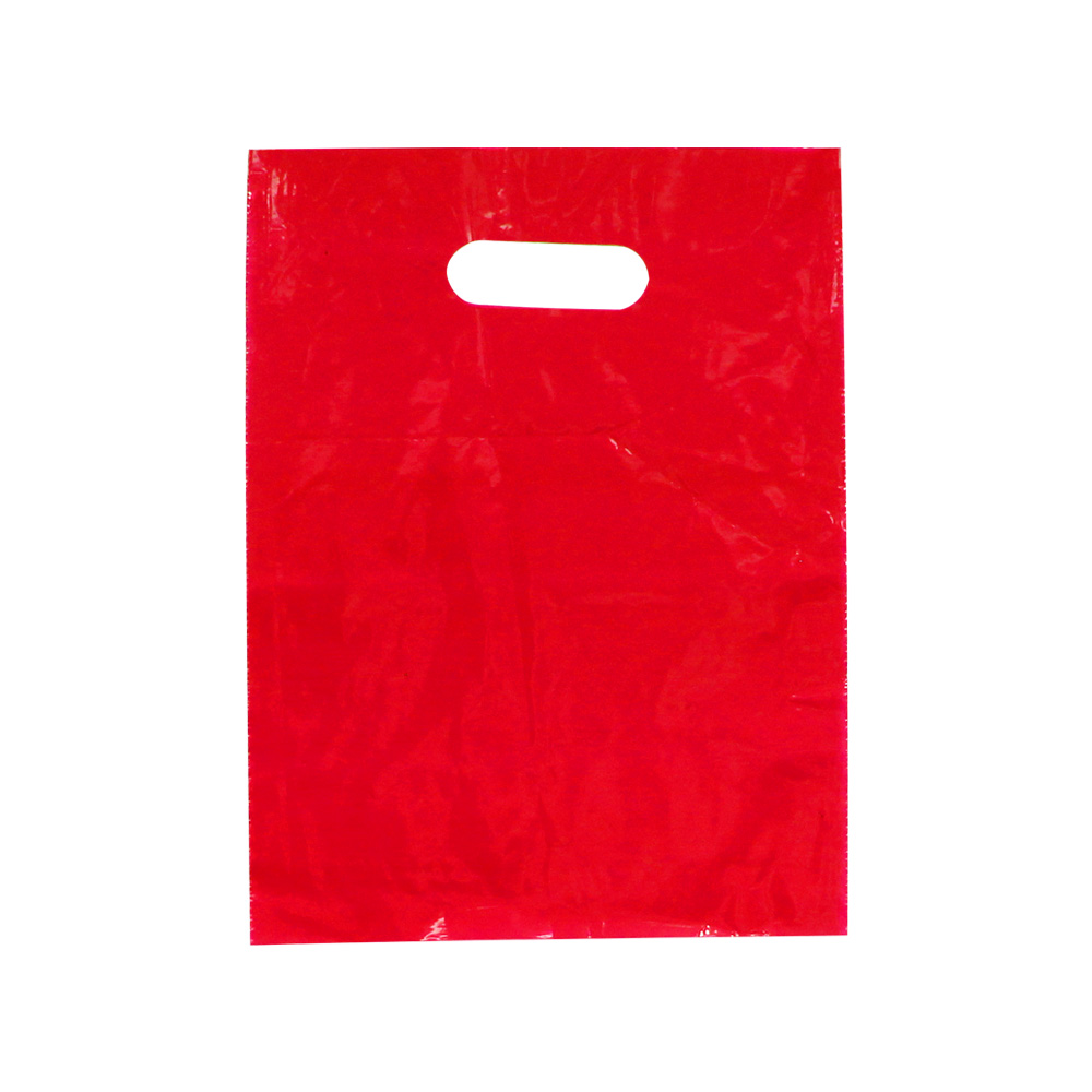 Small Red Low Density Plastic Bag