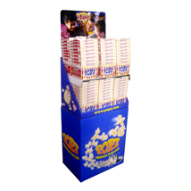 Popz Popcorn, 96 - 4.12Oz Tubs With Display - Movie Butter