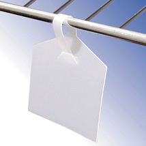 Wire Fixture Label Holder - 50 Per Package