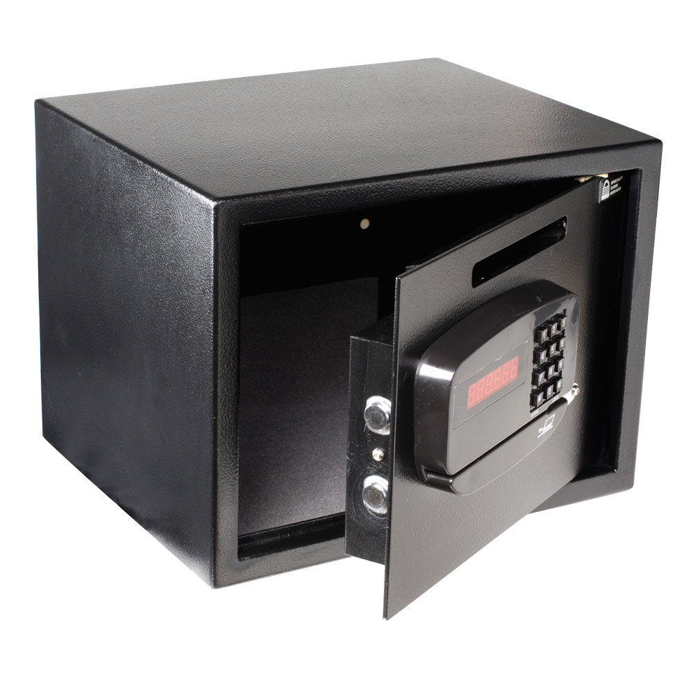 1.4 Cu. Ft. Electronic Safe With Cash Drop Slot