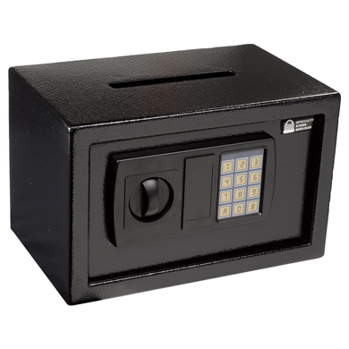 .34 Cu. Ft. Electronic Safe With Digital Lock And Cash Drop Slot