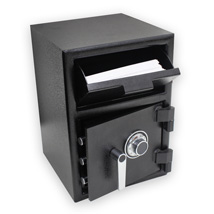 Black Depository Safe - 2.26 Cu. Ft.