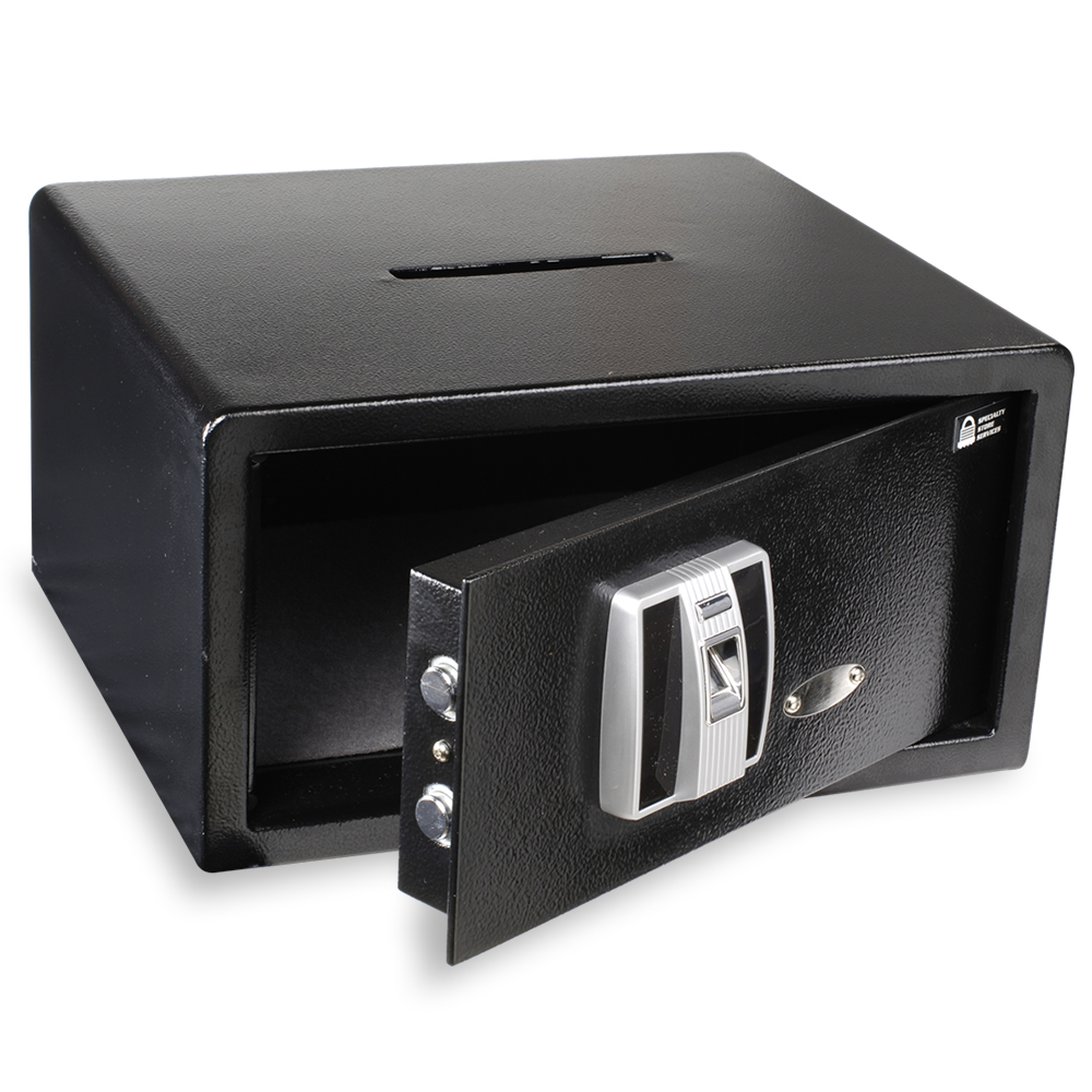1.32 Cu Ft. Electronic Cash Drop Safe With Top Drop Slot - Biometric Lock
