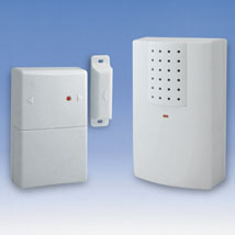 Magnetic Door Chime With Wireless Alert