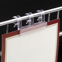 Clip On Sign Holder For Wire - 10 Per Package