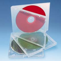 Clear SSS CD/DVD Cases