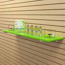 Green Laminated Wood Shelf - 12 In. W X 48 In. L
