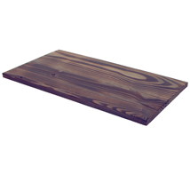 Distressed Wood Shelf - 12 in. W x 24 in. L